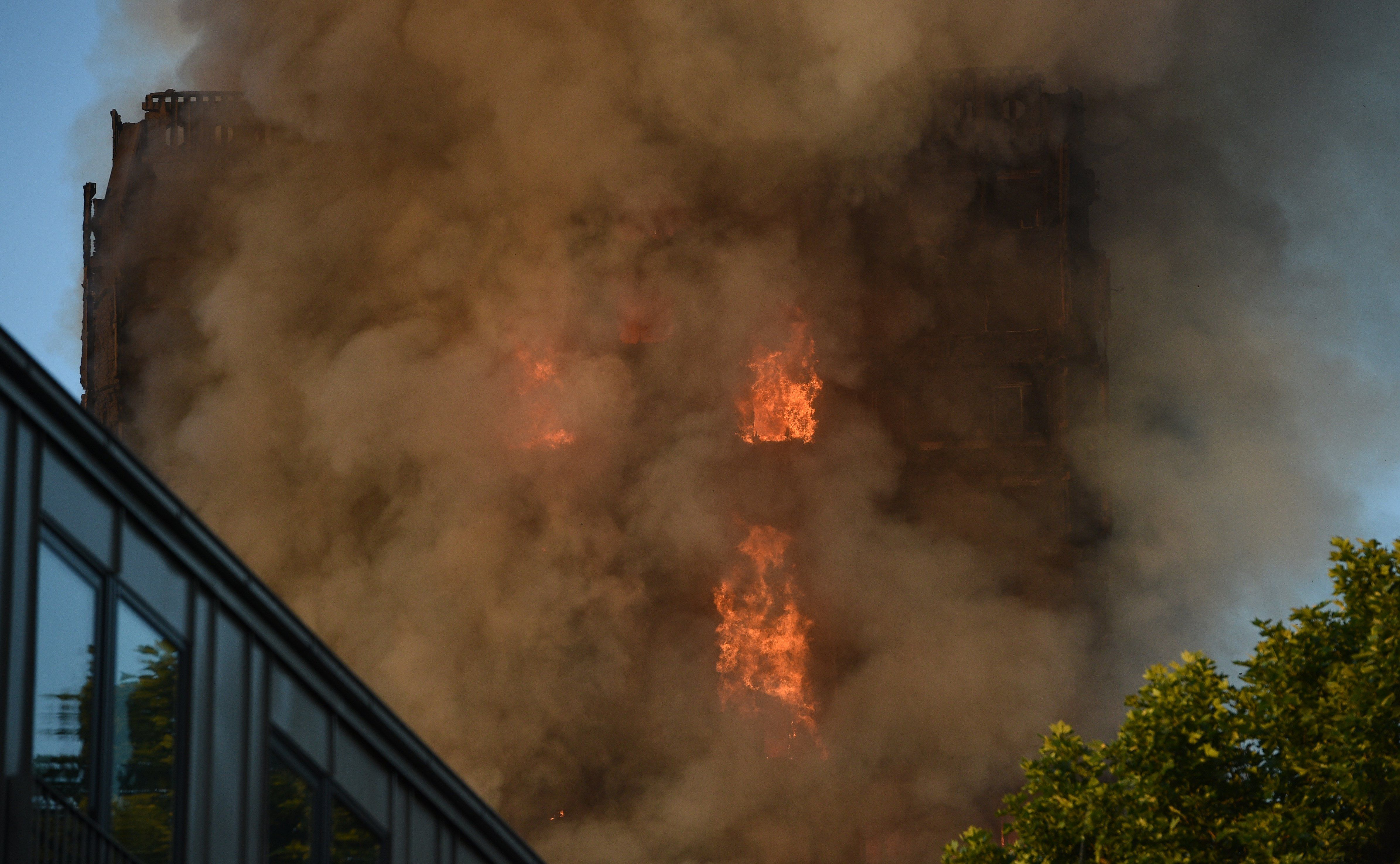 Incendio en la Grenfell Tower