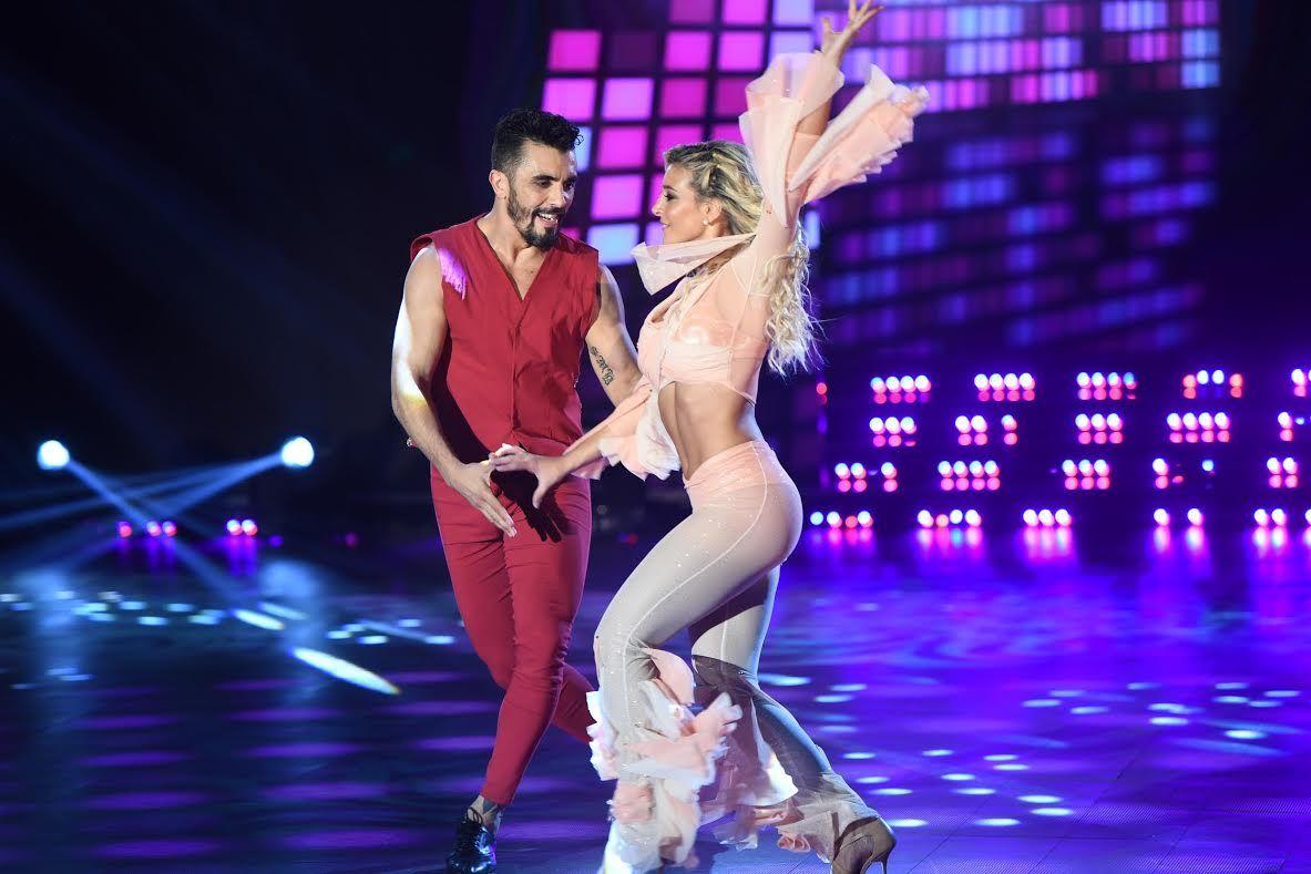 Sol Pérez la rompió bailando disco