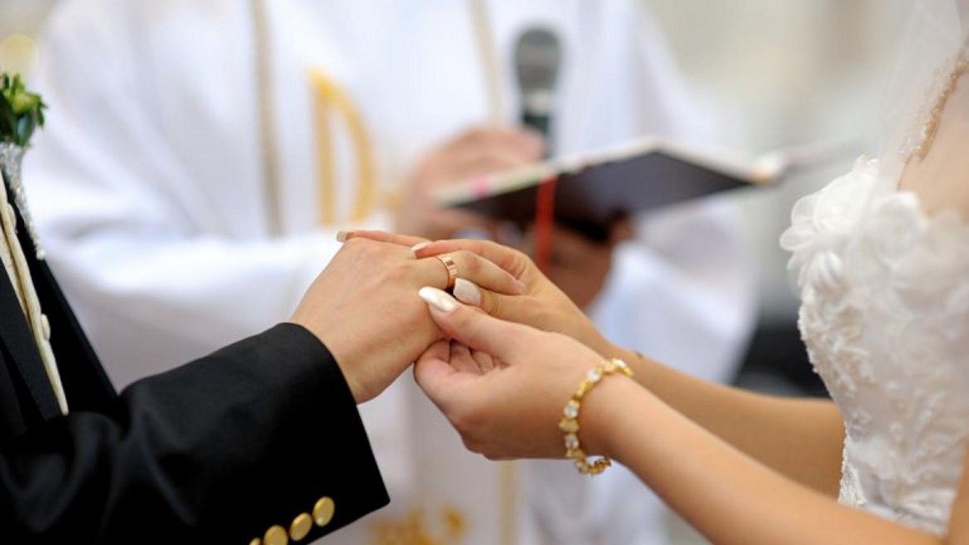 Se casaron menos de la mitad de los porteños que un día habitual