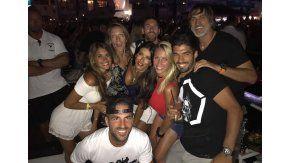 Messi y su mujer, de fiesta en Ibiza.