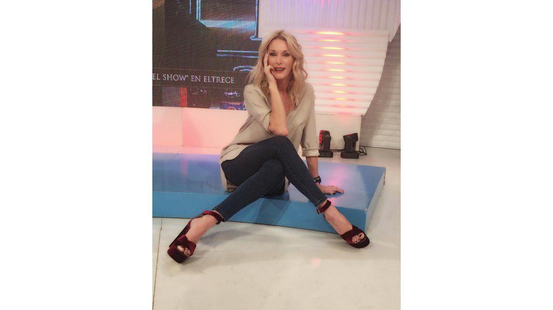 Yanina Latorre bromeó con la infidelidad de Diego Latorre