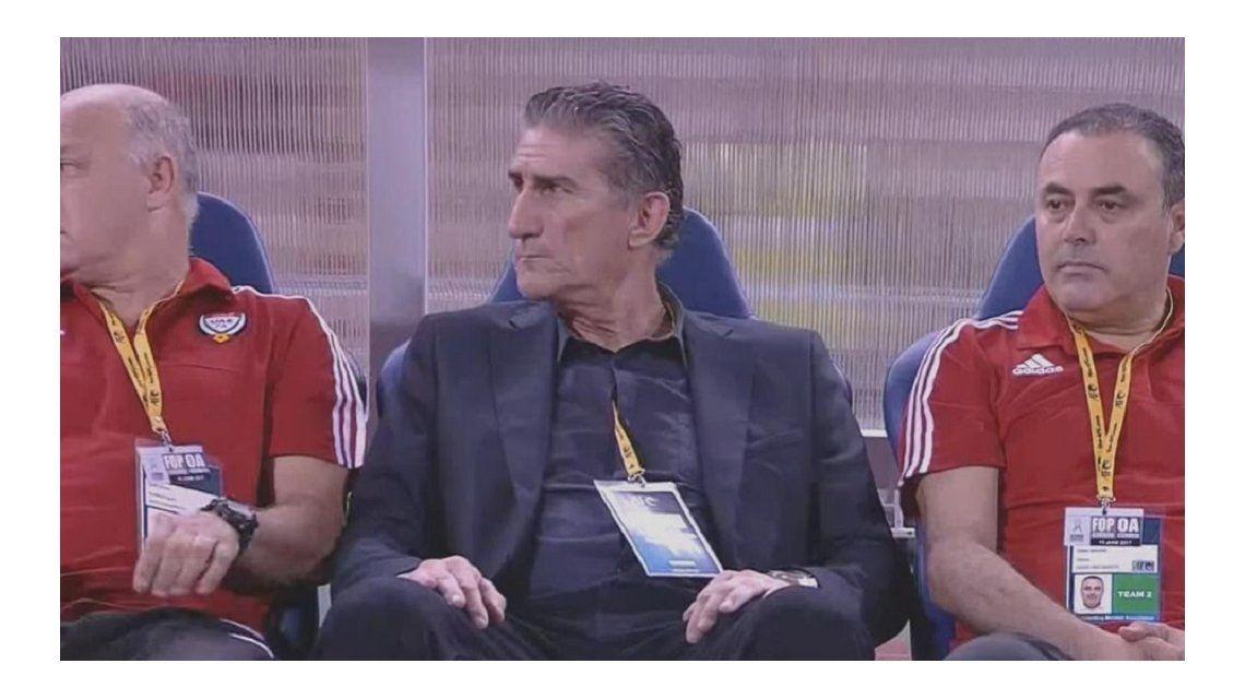 La Selección del Patón Bauza, Emiratos Árabes, quedó casi afuera del Mundial de Rusia