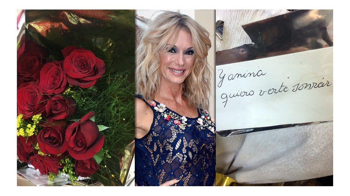 Yanina Latorre tiene un admirador