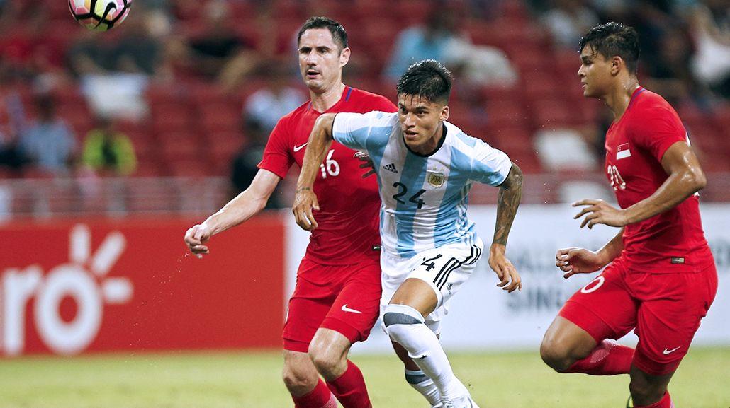 Mirá todos los goles del triunfo de la Selección sobre Singapur