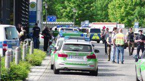 Un tiroteo dejó cuatro heridos en Múnich