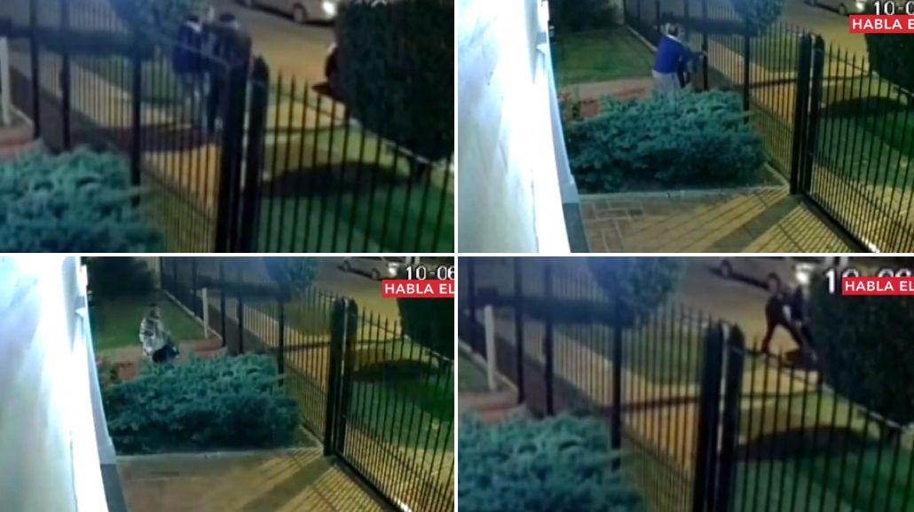 Así intentaron secuestrarlo en la puerta de su casa