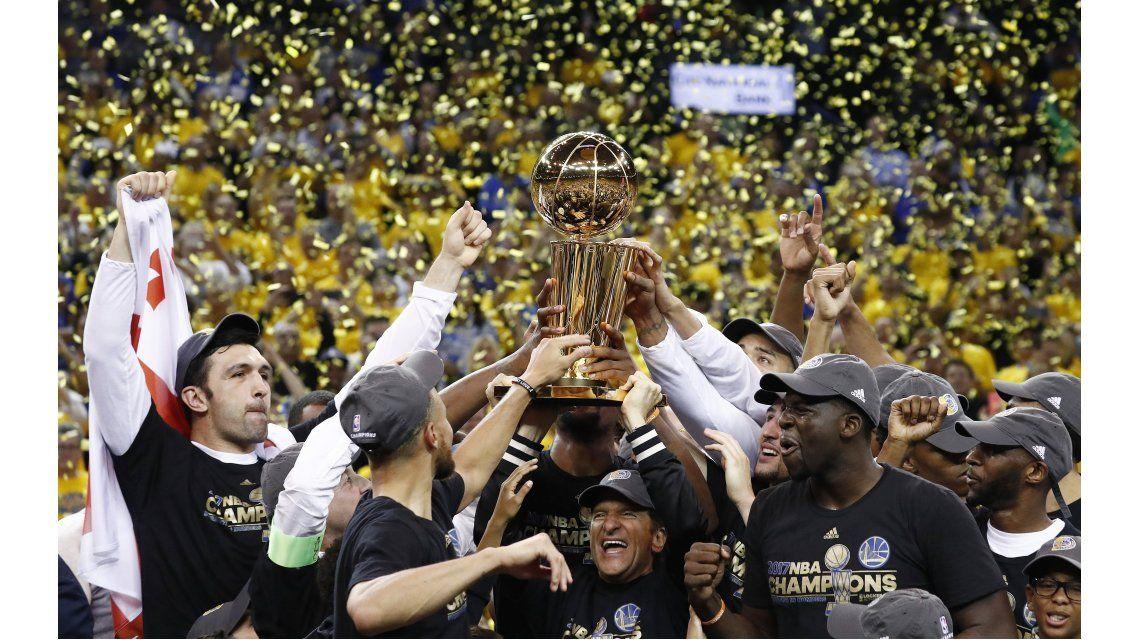 Golden State Warriors campeón 2016-2017
