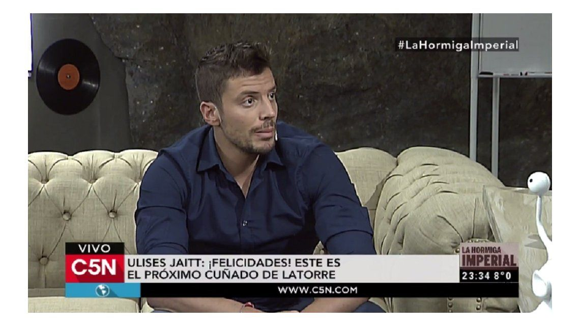 Ulises Jaitt: Yo vi en la esquina de mi casa a Diego Latorre