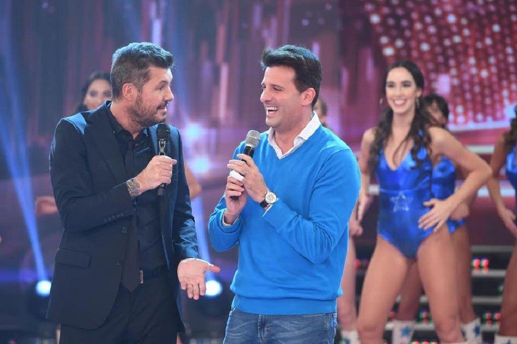 Tinelli condujo Showmatch a medias con Listorti.Foto: Jorge Luengo
