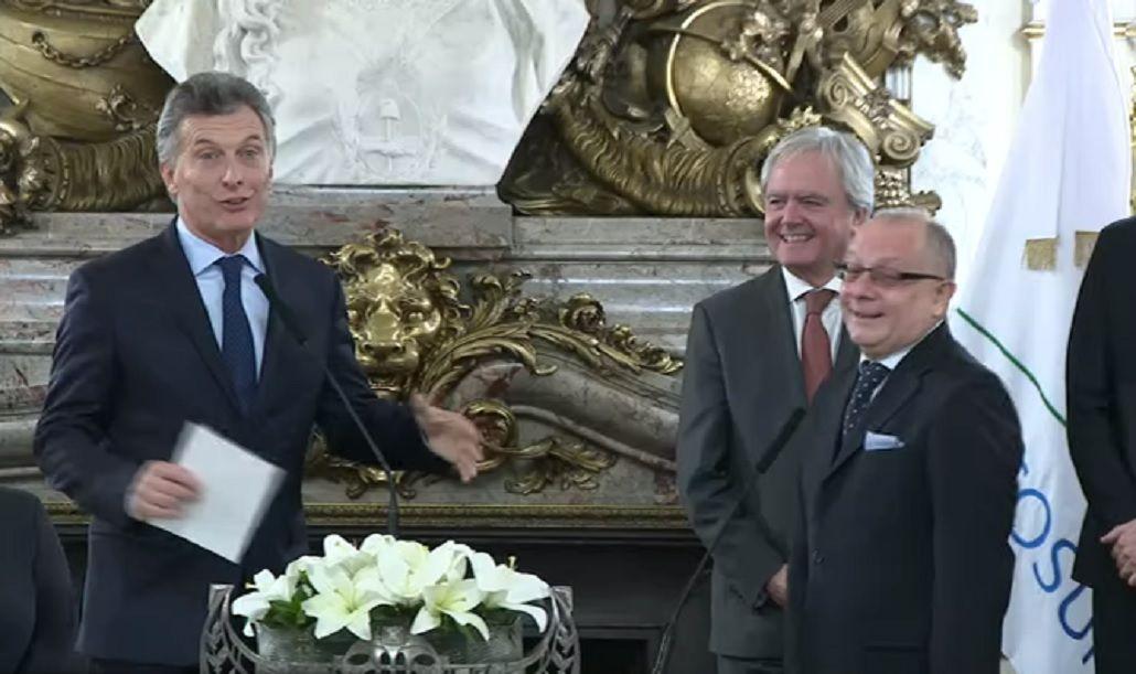 La reacción de Faurie cuando Macri le preguntó por qué se llama Marcelo