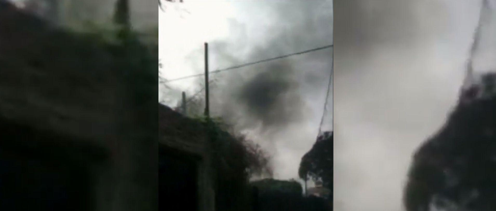 Le prendieron fuego la casa al hombre que mató por un perro