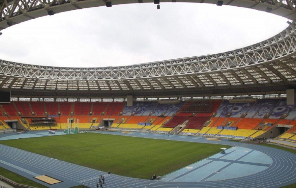 El estadio Nacional de Luzhniki, escenario del partido inaugural y de la final de Rusia 2018