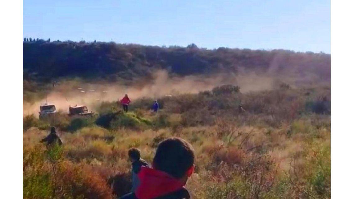 Una fotógrafa fue atropellada en una competencia en La Pampa