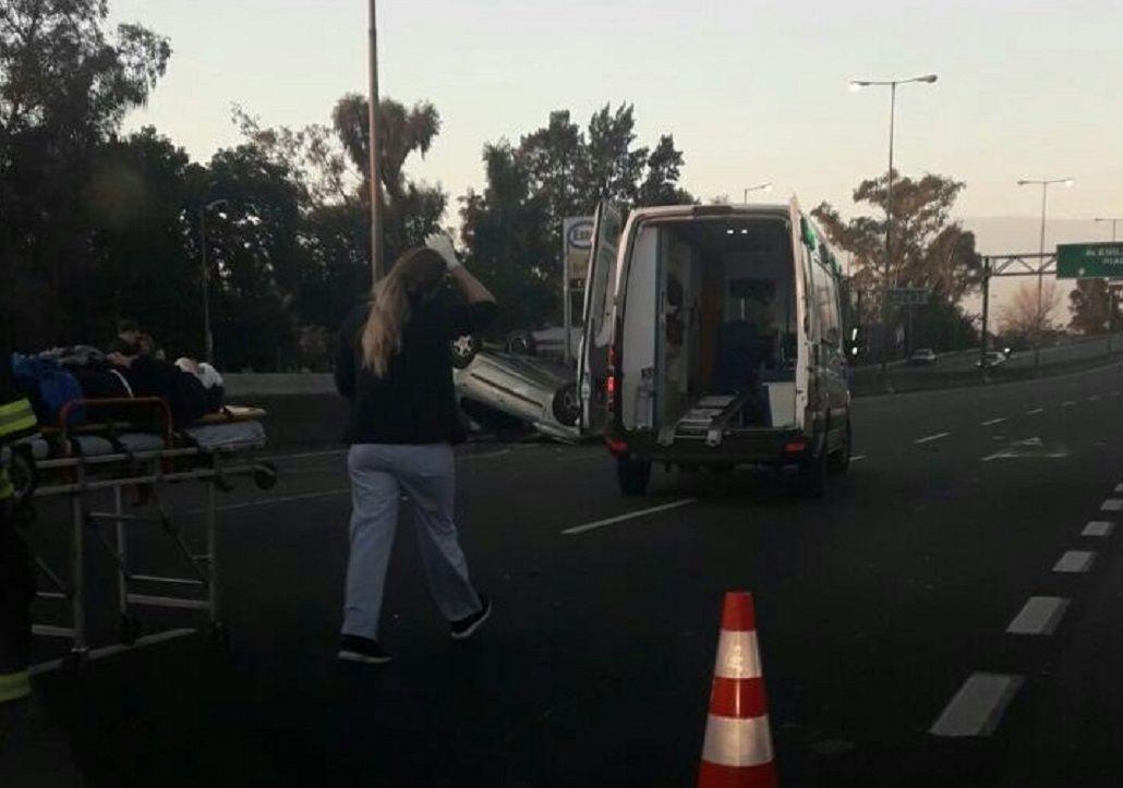 Los heridos fueron trasladados al hospital