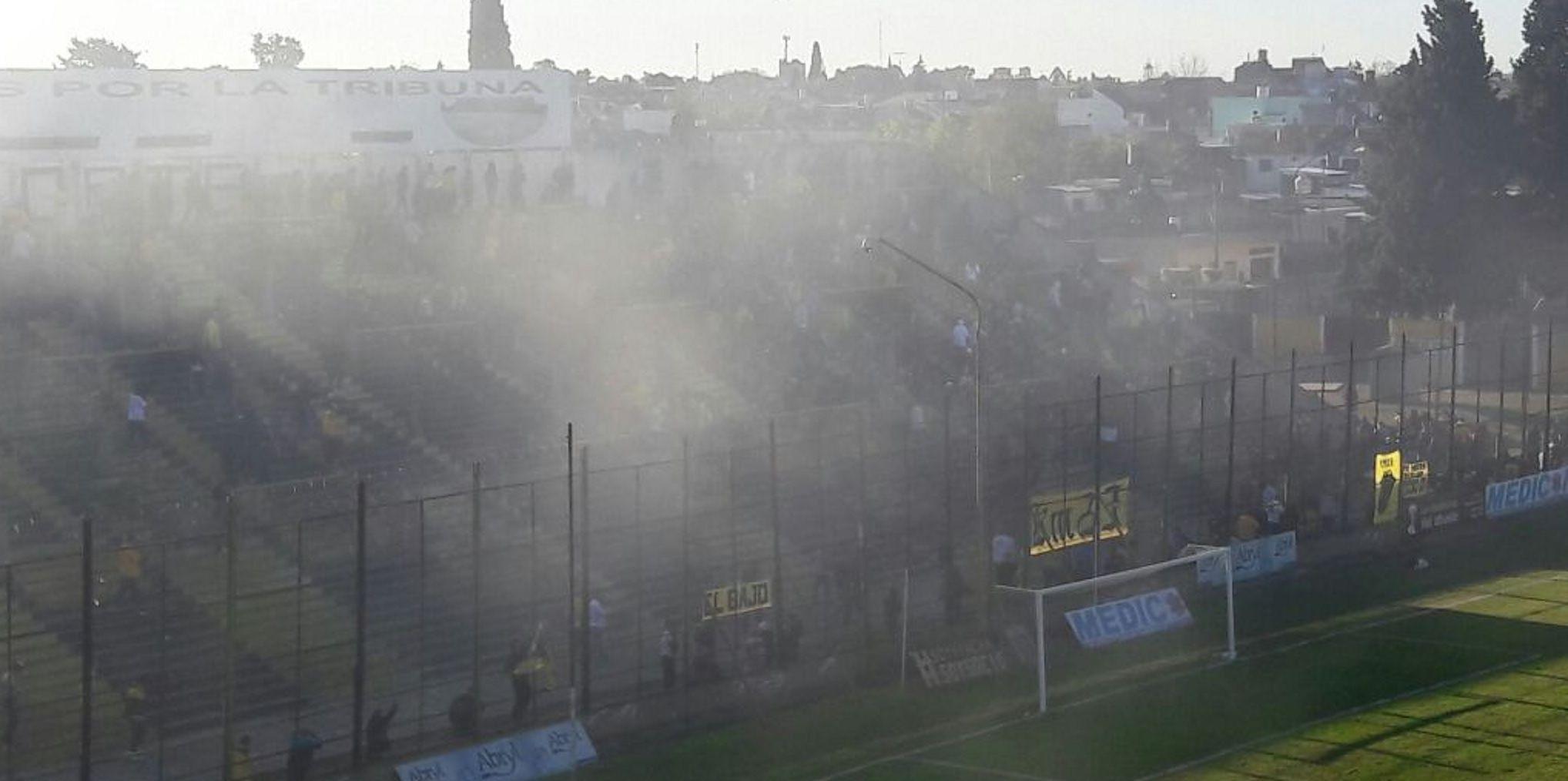 Otra vez la violencia dijo presente en el fútbol argentino