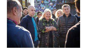 Macri y Carrió presentaron su alianza para la Ciudad