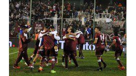 El festejo de Defensores de Belgrano de Villa Ramallo
