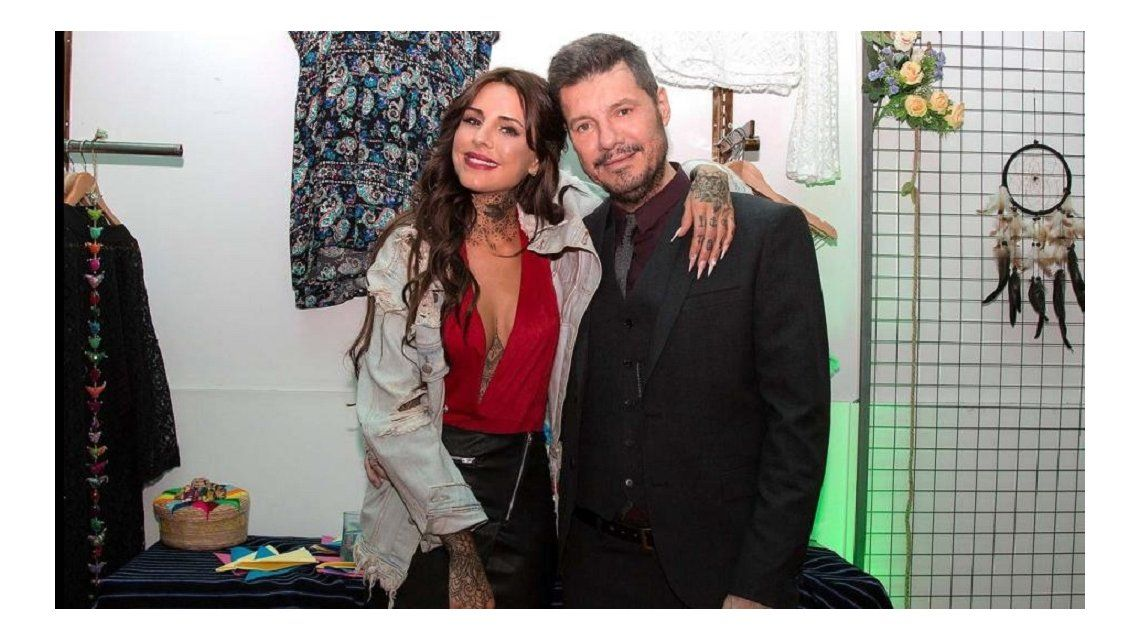 Candelaria Tinelli y Marcelo Tinelli