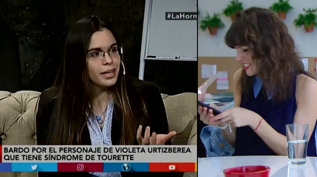 Polémica sobre el Tourette en el personaje de Violeta Urtizberea en Las Estrellas