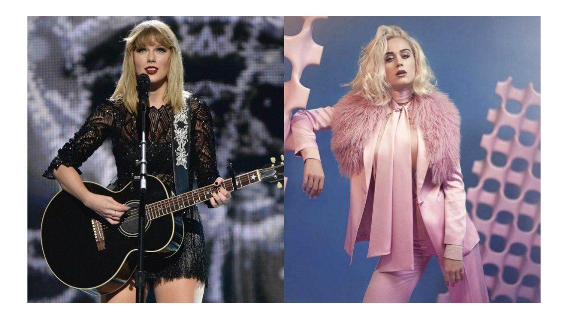 Taylor Swift volvió a Spotify el día que salió el nuevo disco de Katy Perry