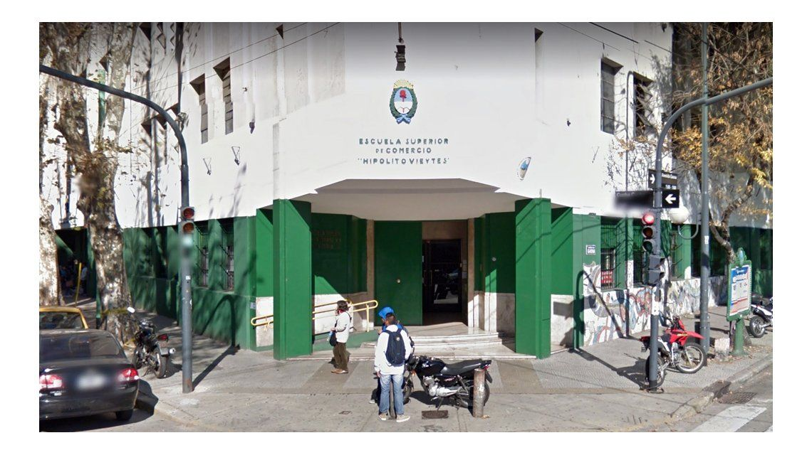 Ambos alumnos asisten a la Escuela Superior de Comercio Hipólito Vieytes