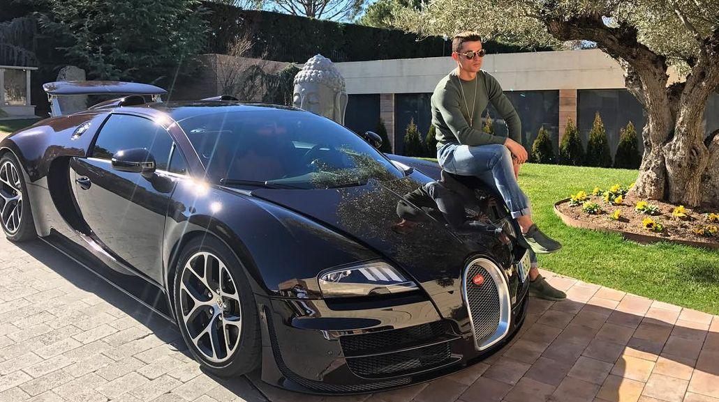 El Bugatti de Cristiano Ronaldo