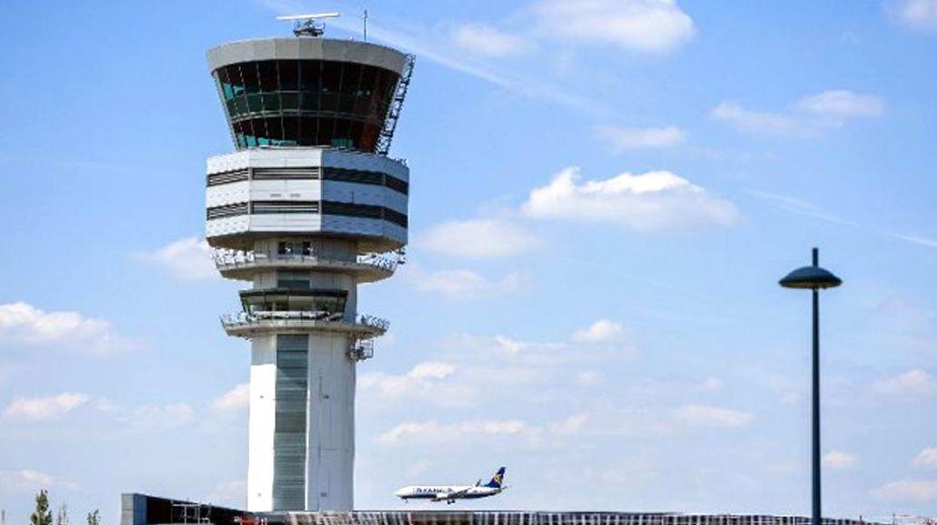 Torre de control del aeropuerto de Ezeiza