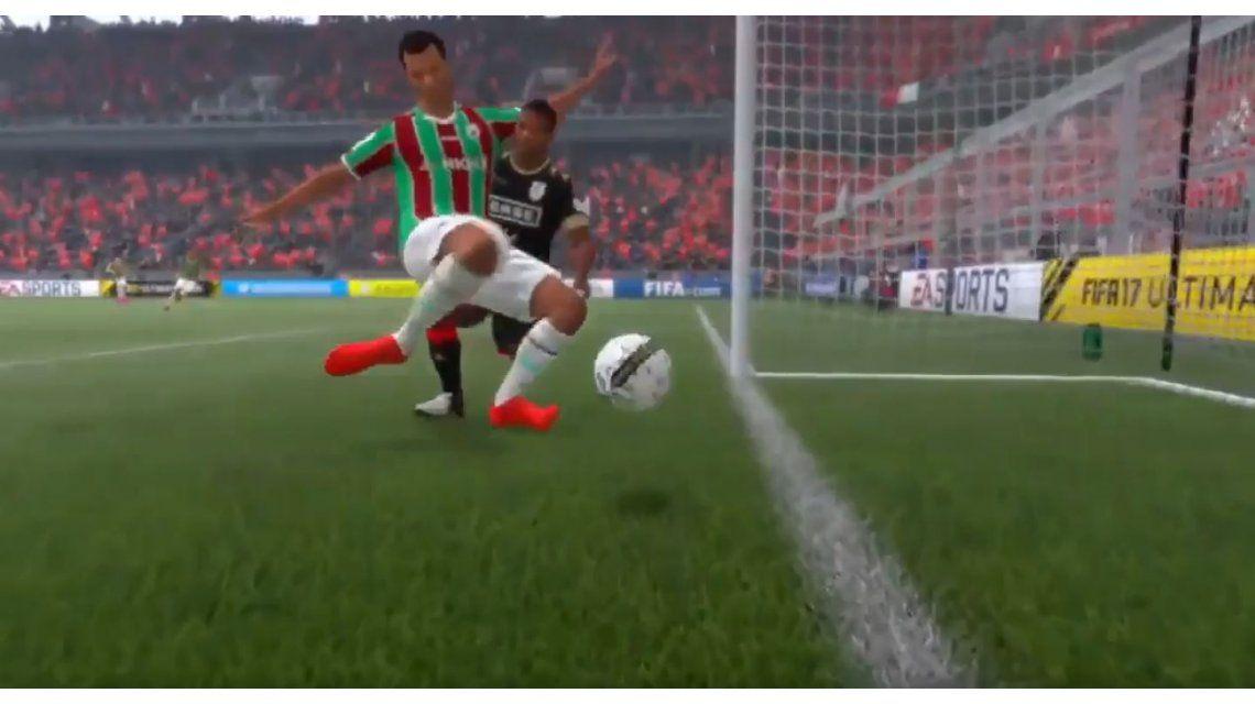 Mirá la jugada imposible en el FIFA 17 que se viralizó