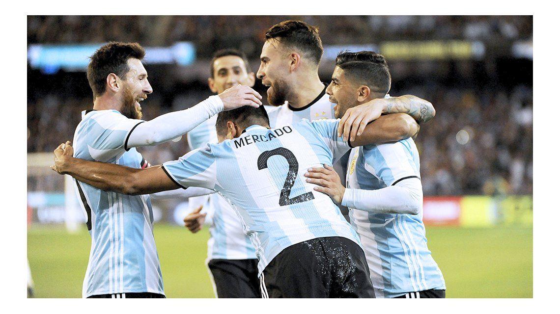 Argentina le ganó a Brasil en el debut de Jorge Sampaoli