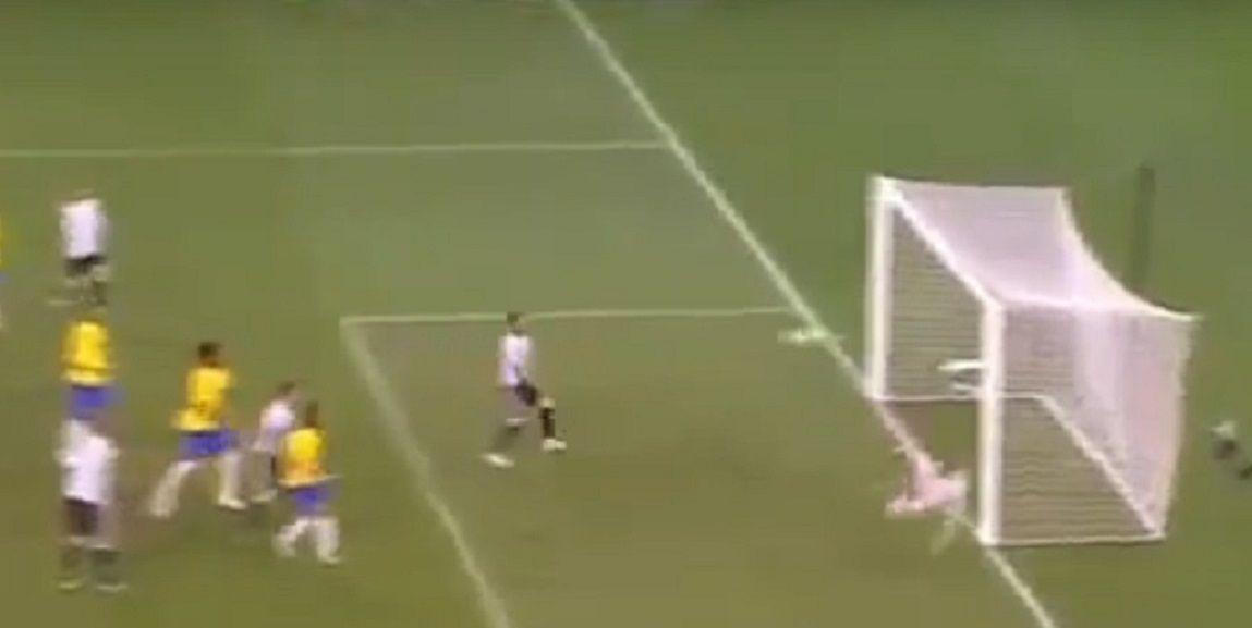 Mercado hizo el primer gol de Argentina ante Brasil