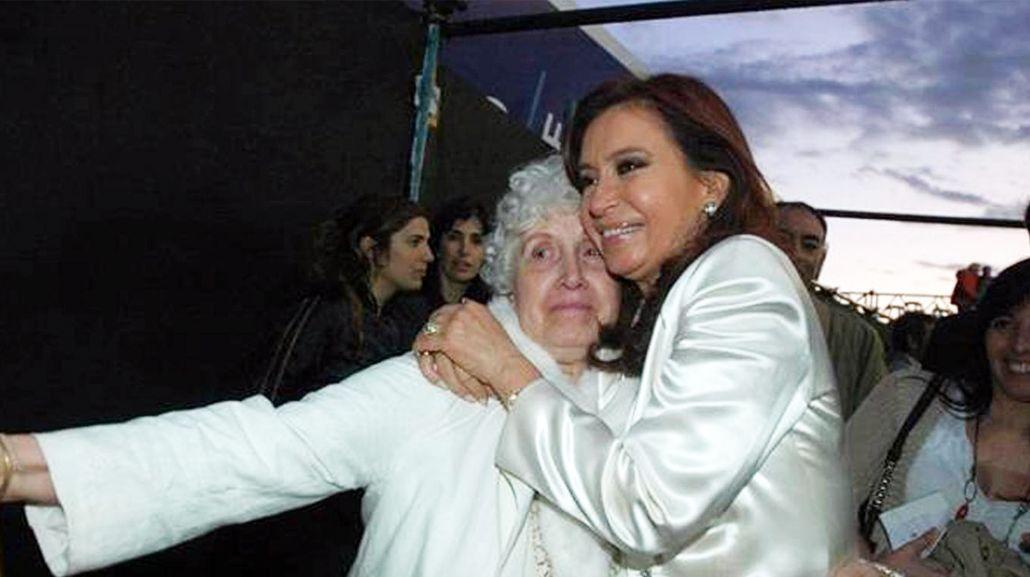 Internaron a la madre de Cristina Kirchner<br>
