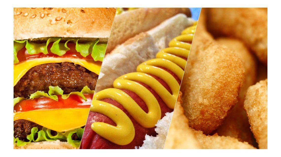 ¿Qué comemos más los argentinos: hamburguesas, salchichas o prefritos de pollo?