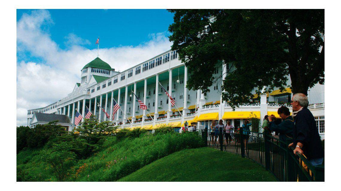 La isla Mackinac es un centro turístico muy importante en Michigan