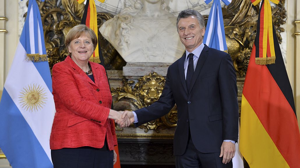 Merkel elogió la apertura comercial impulsada por el gobierno de Macri