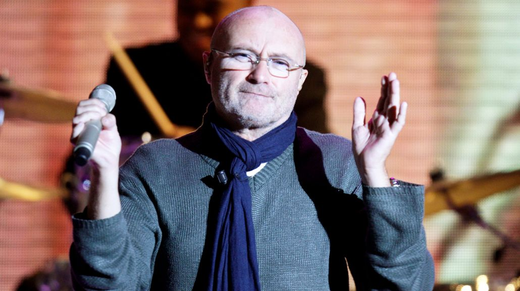 Phil Collins sufrió un accidente