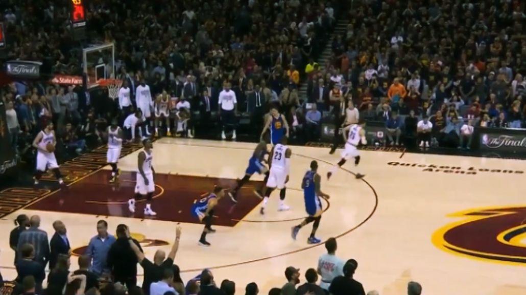 El escatológico gesto de Stephen Curry que enfureció a Cleveland