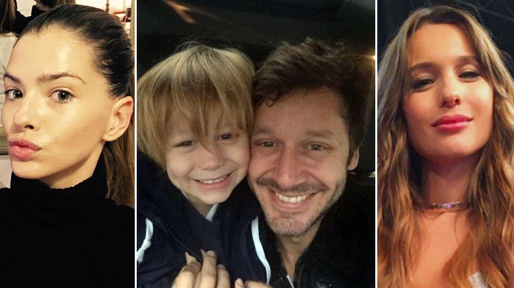 Vicuña pasa el día con su hijo Beltrán y se aleja de los rumores