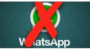 WhatsApp: Varios teléfonos no tendrán más la app