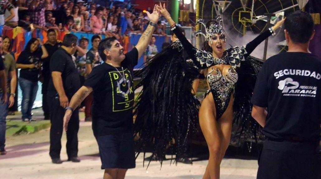 Gisela Ramírez Méndez quiere ser la novia de Maradona