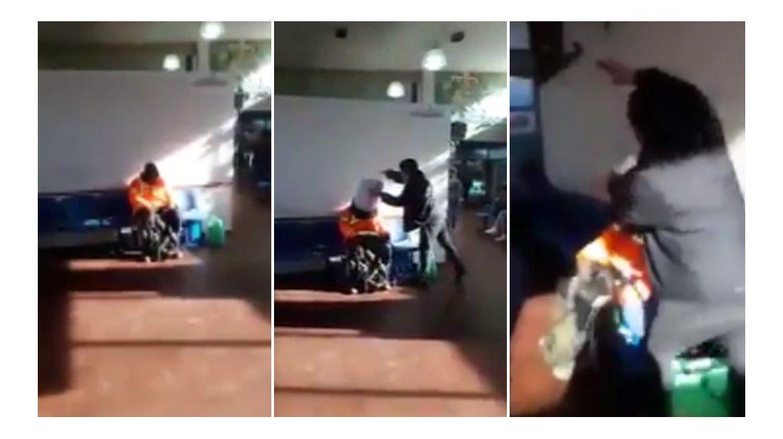 Los jóvenes grabaron el video y lo compartieron en las redes sociales