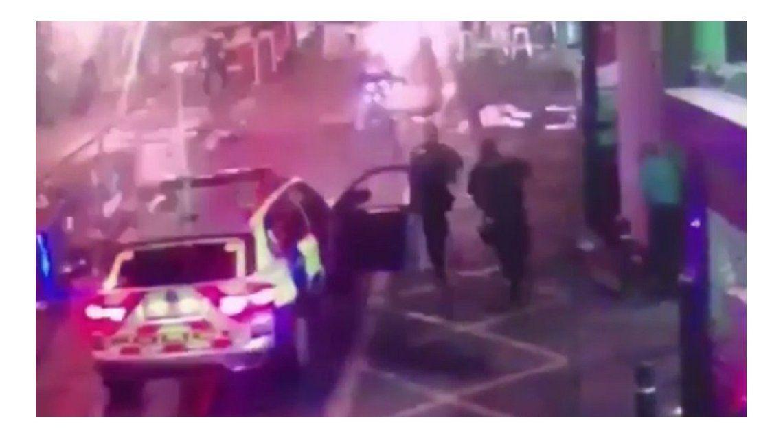 Así mataron a los terroristas de Londres