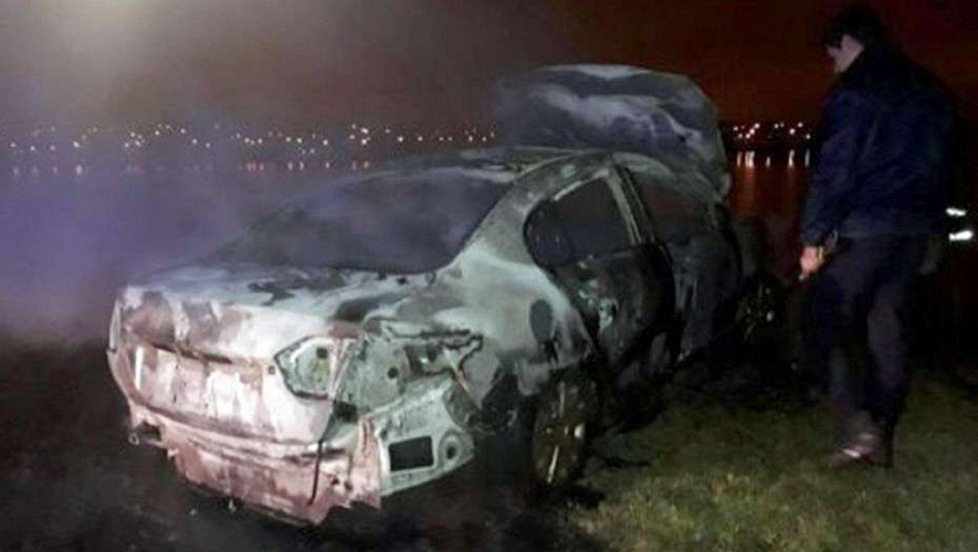 Misterioso crimen de un sindicalista: lo golpearon y quemaron en su auto