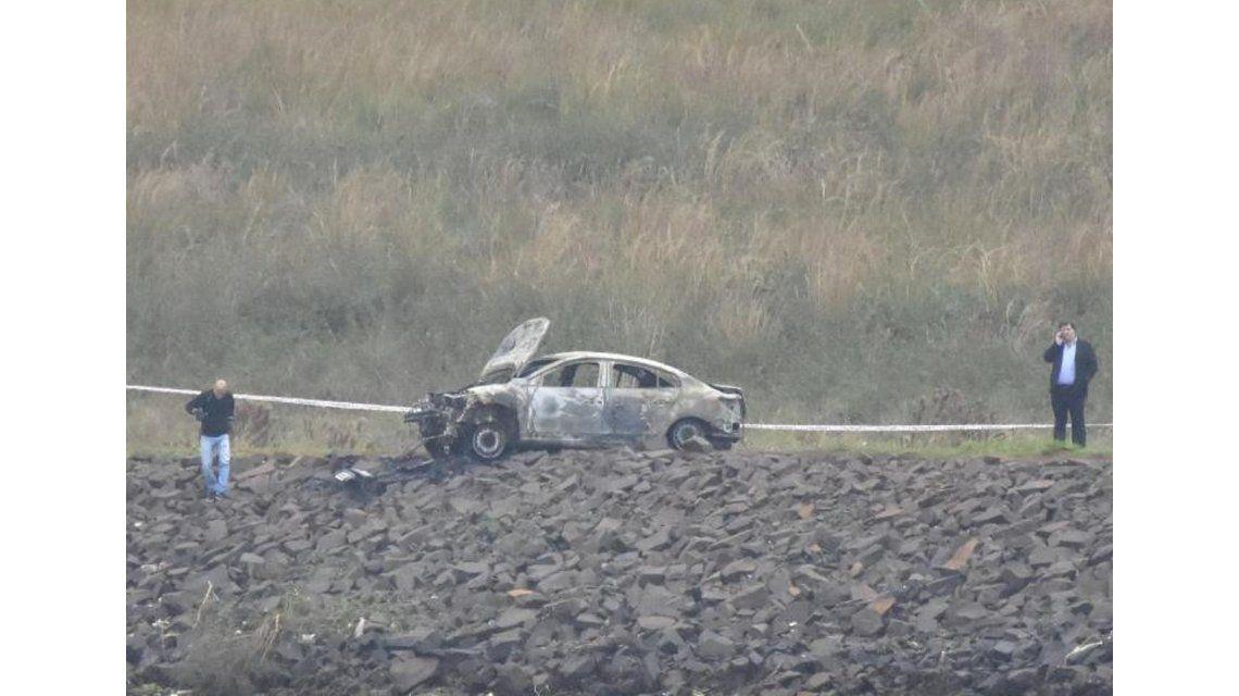 Misterioso asesinato de un sindicalista: lo golpearon y quemaron en su auto