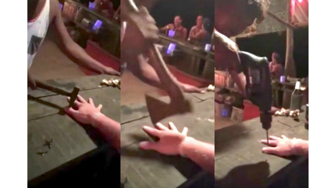 El absurdo reto para ganar trago gratis en un bar tailandés