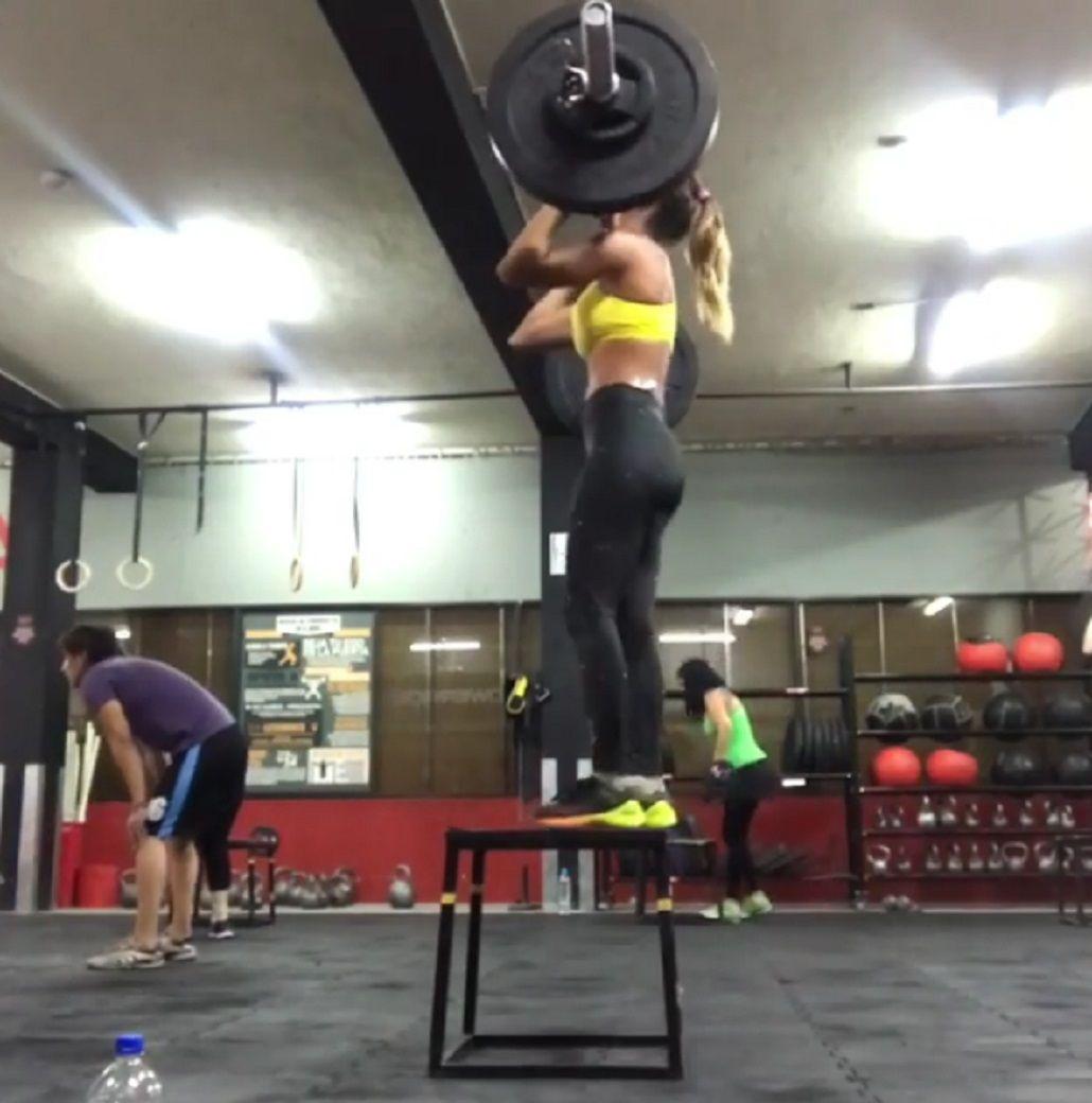 El entrenamiento extremo de Cinthia Fernández