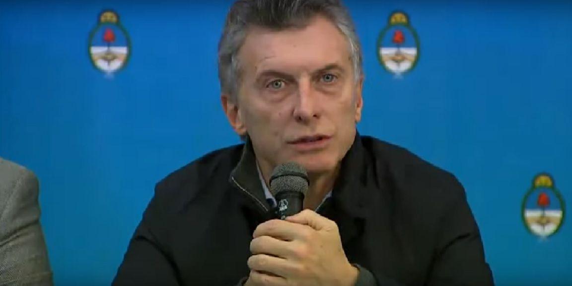 Macri brindó una conferencia de prensa en Corrientes