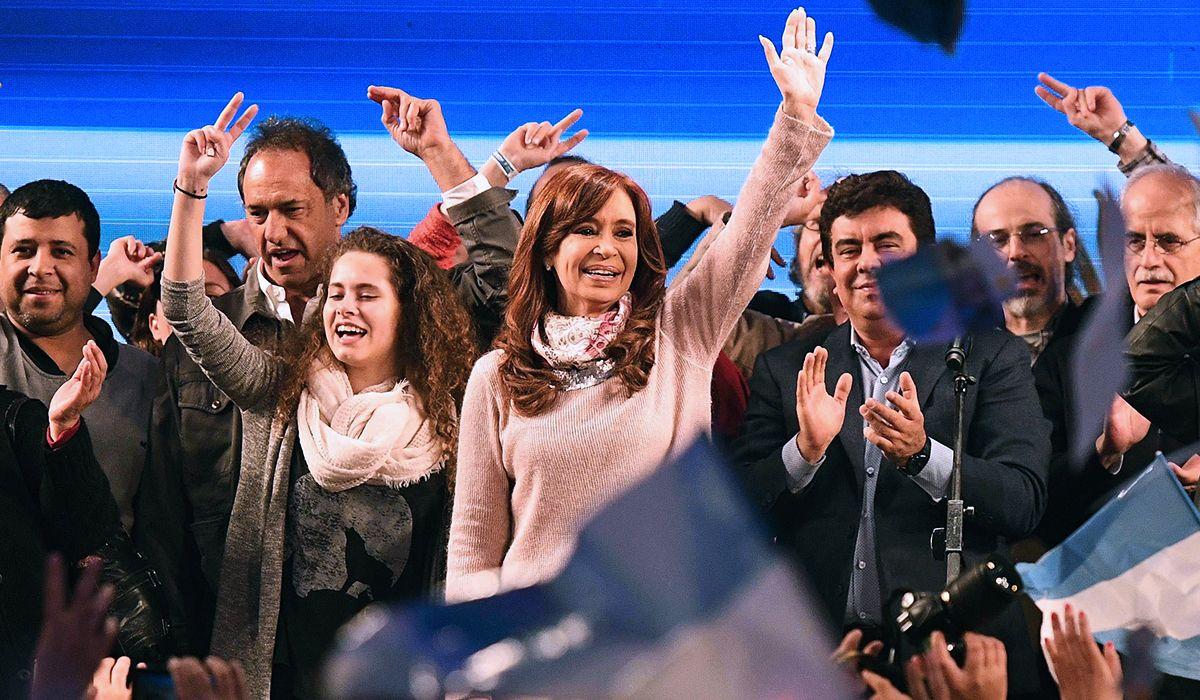 Cristina: Hemos ganados las elecciones con Unidad Ciudadana
