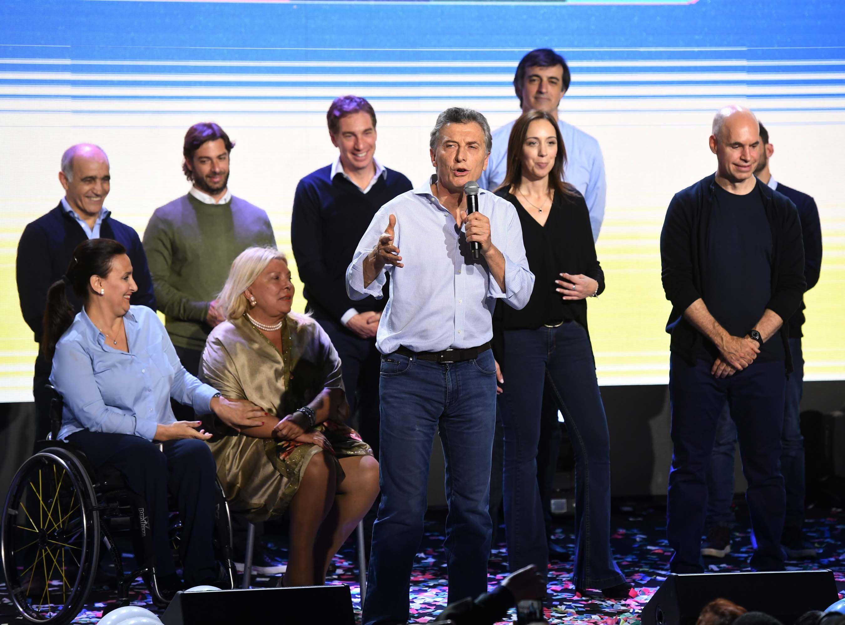 Macri habló de 20 años de Cambiemos tras el triunfo en las PASO