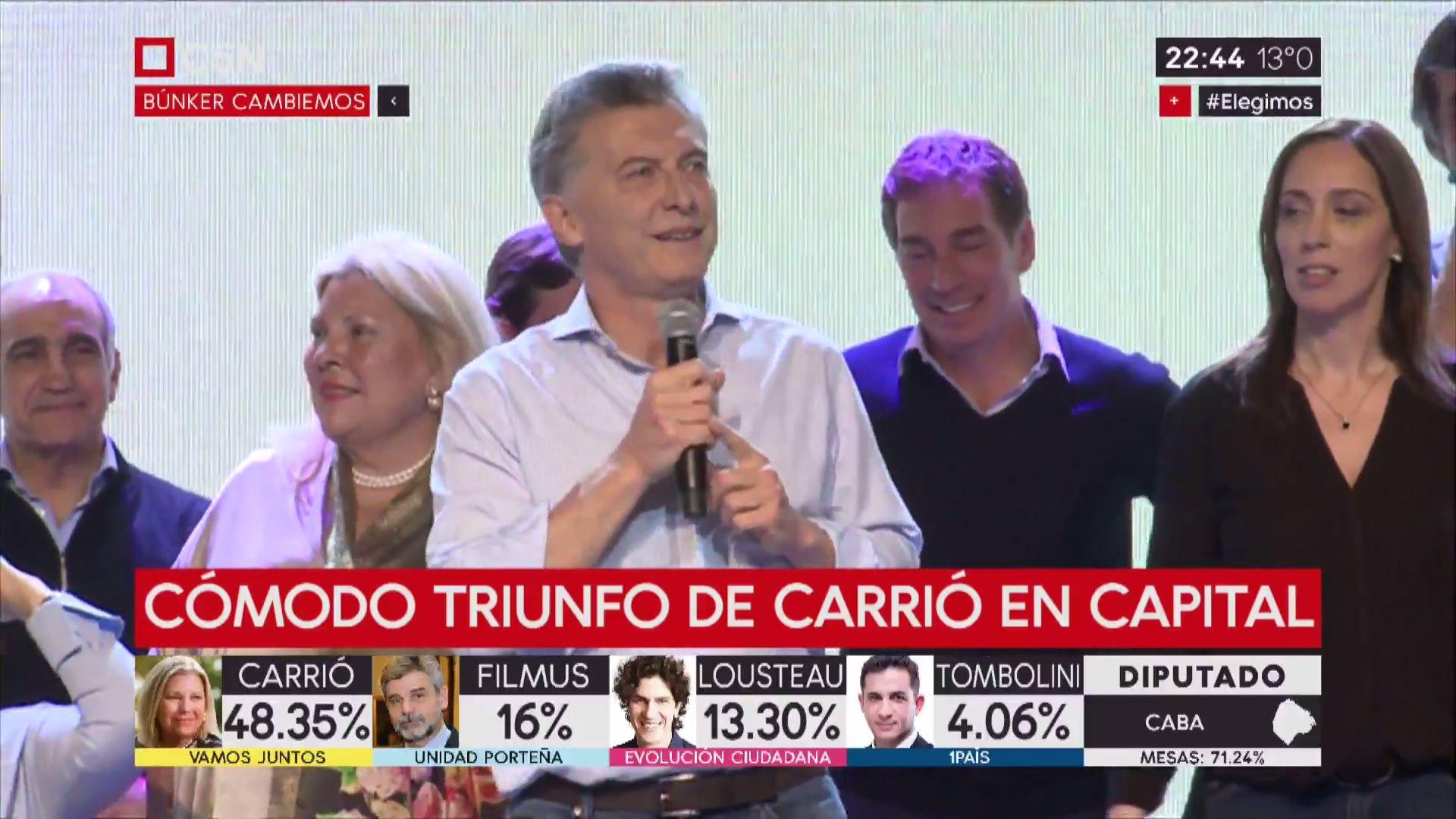 PASO 2017: Macri auguró 20 años de Cambiemos
