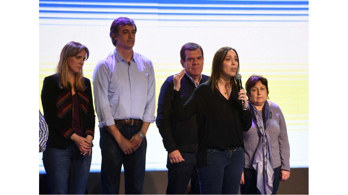 Vidal y Bullrich hablaron como ganadores de las PASO en Provincia